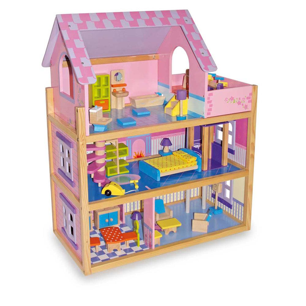 Pourquoi offrir une maison de poupée en bois à son enfant ?